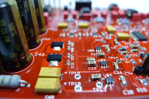 CY-3100 mainboard close-up
